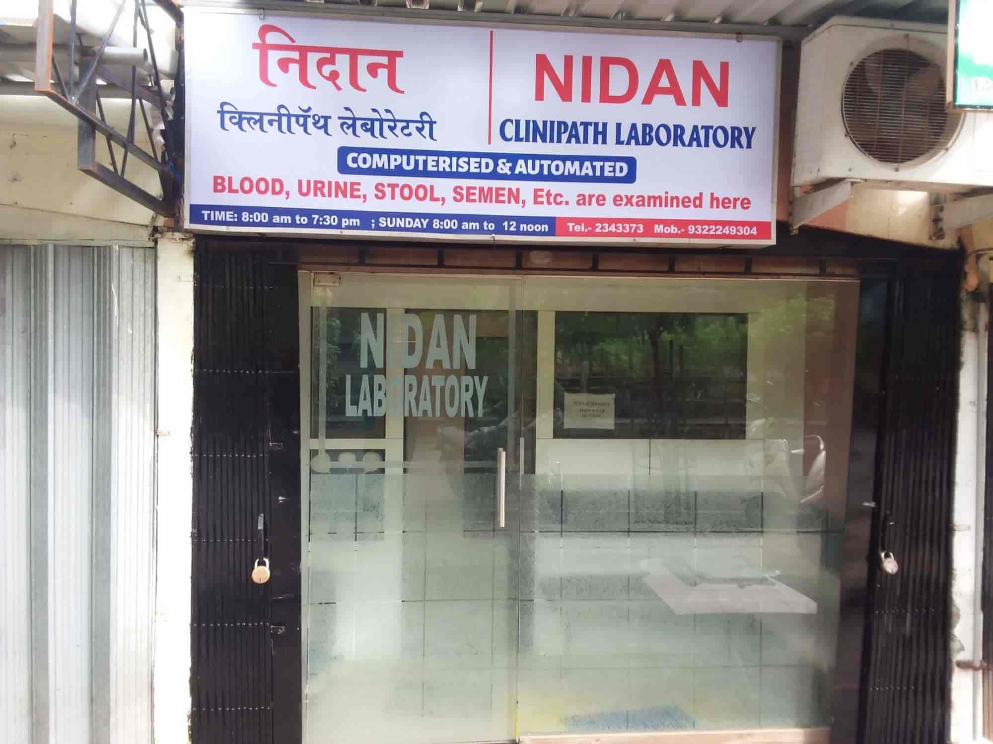 Nidan Clinipath Laboratory, Vasai Road West - Pathology Labs