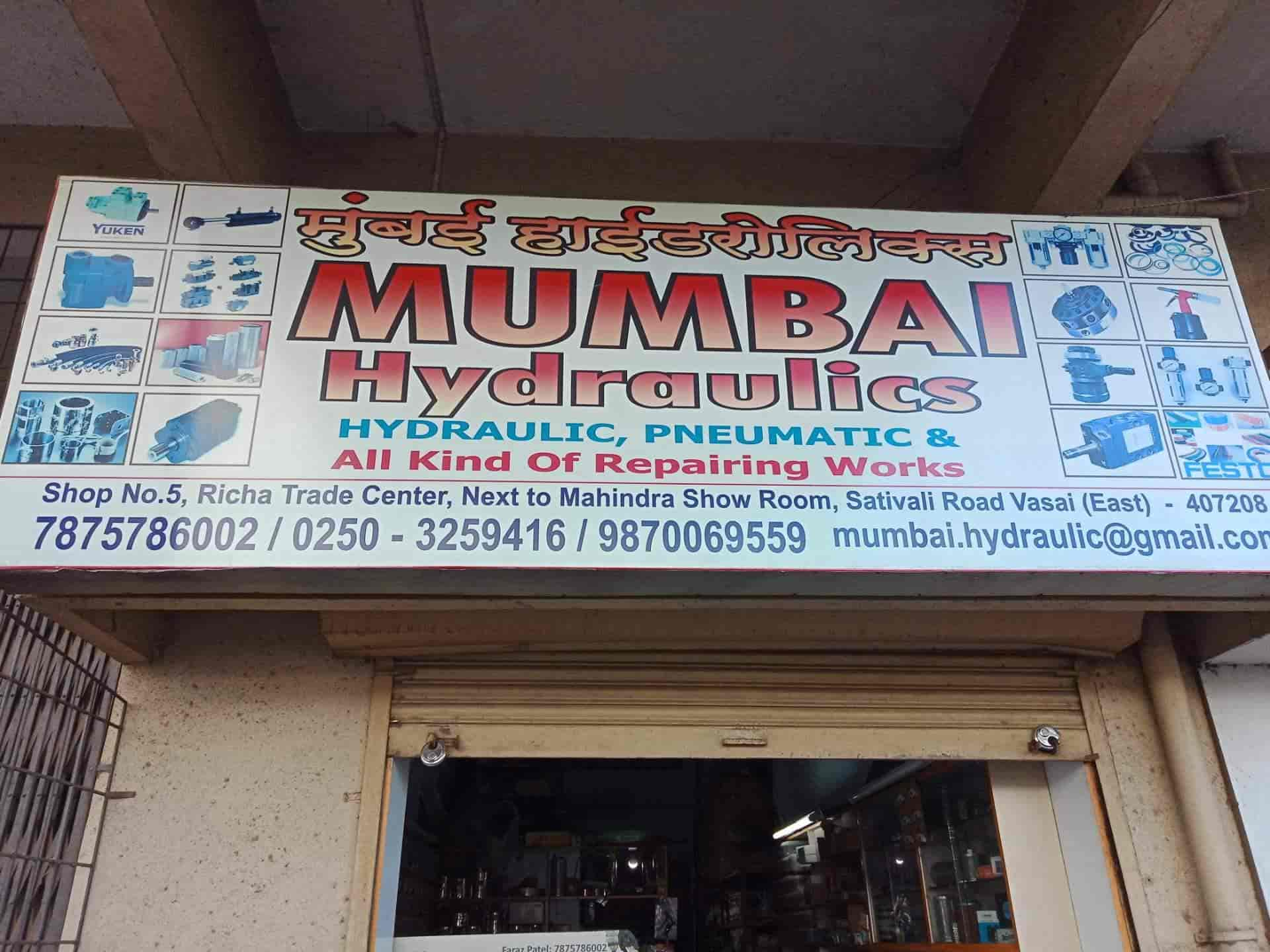 Mumbai Hydraulics, Vasai East - Valve Dealers in Palghar