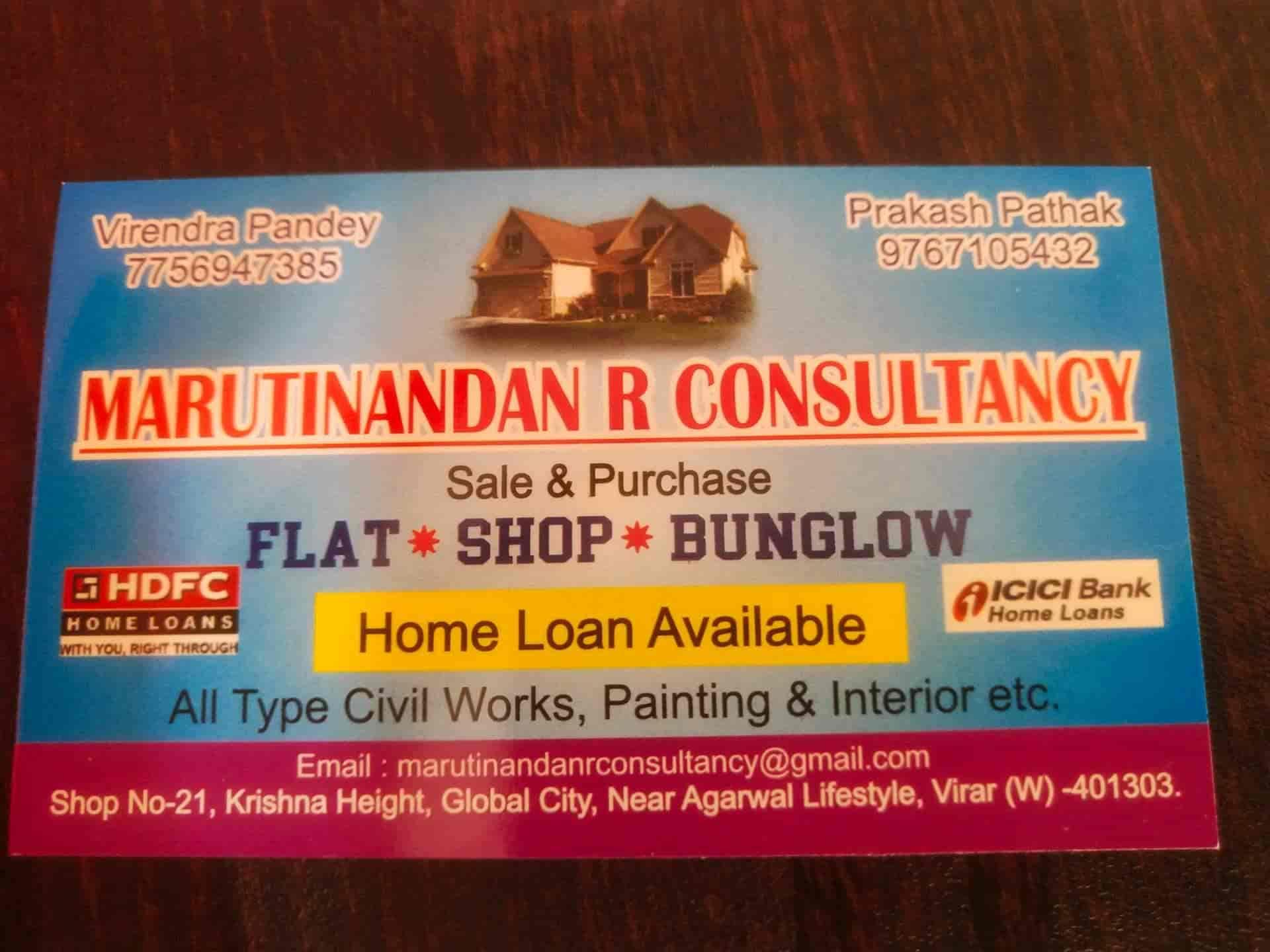 Maruti Nandan R Consultant, Virar West - Estate Agents For