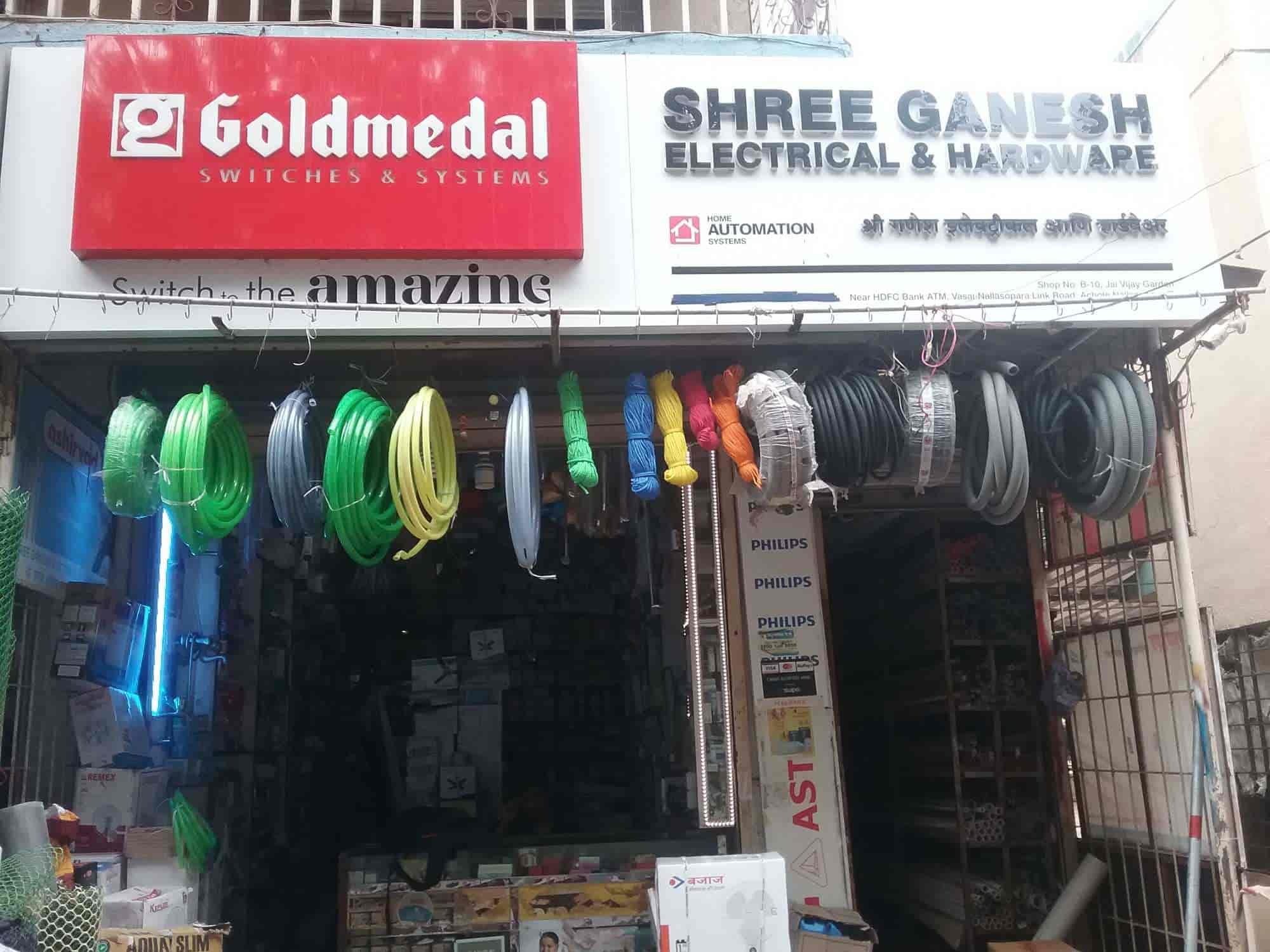 Shree Ganesh Electrical Hardware, Nalasopara East - Hardware ... on
