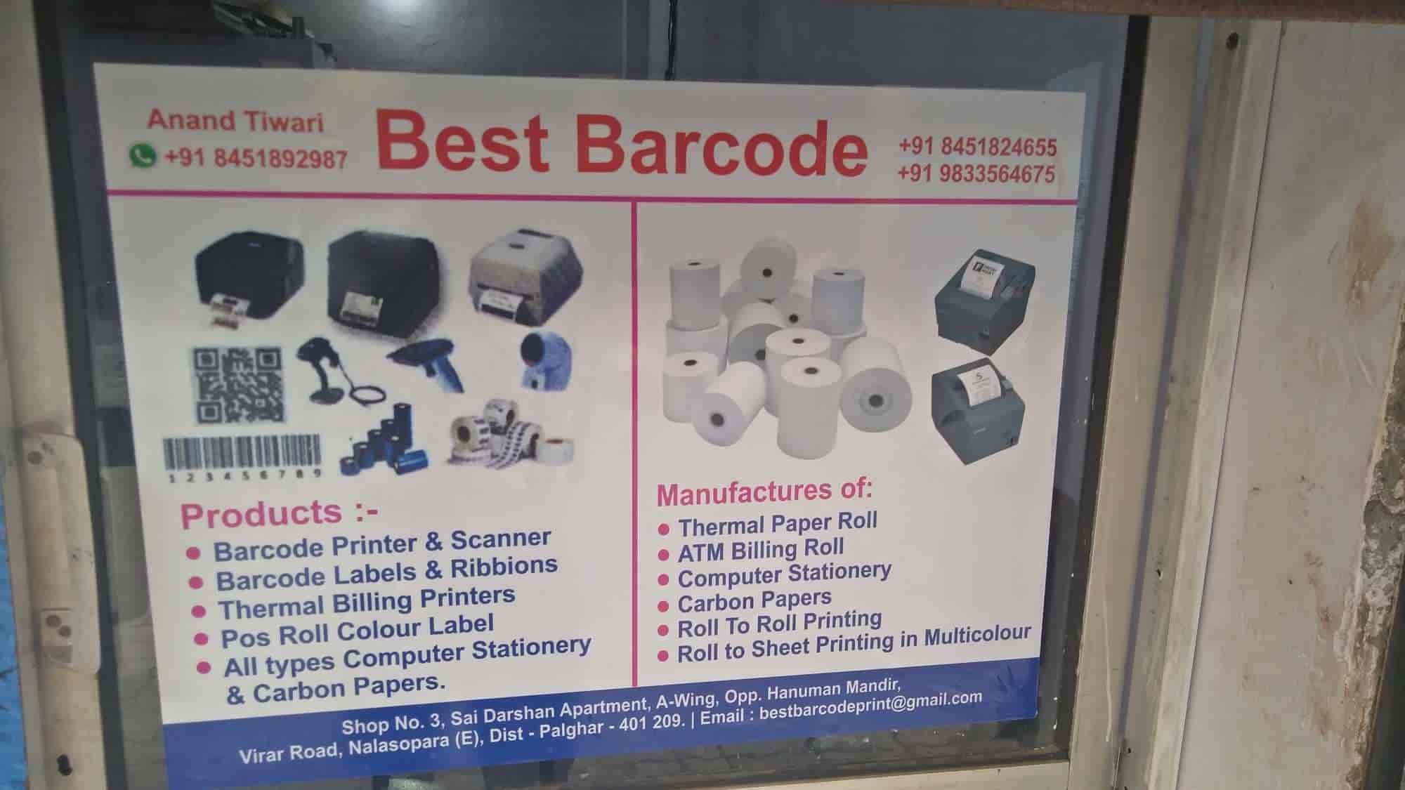 Best Barcode, Nalasopara East - Barcode Manufacturers in Palghar