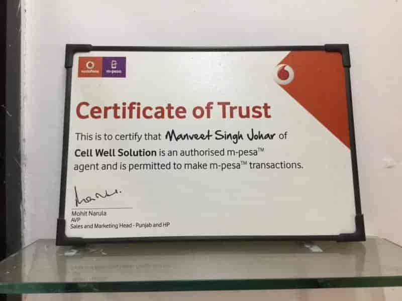 Vodafone Mini Store, Panchkula Sector 11 - Data Card Dealers in