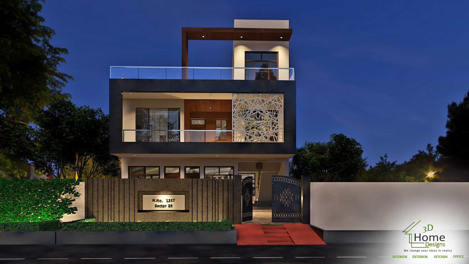 ... 3D Home Designs Photos, , Panipat   Architects ...