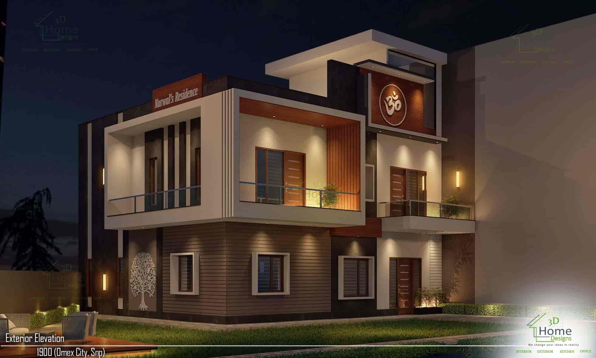 3d home designs architects in panipat justdial
