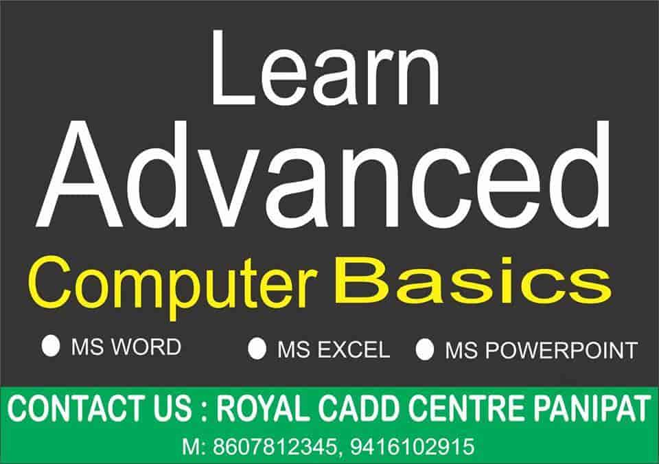 Cadd Centre, Panipat G T Road - Computer Training Institutes in