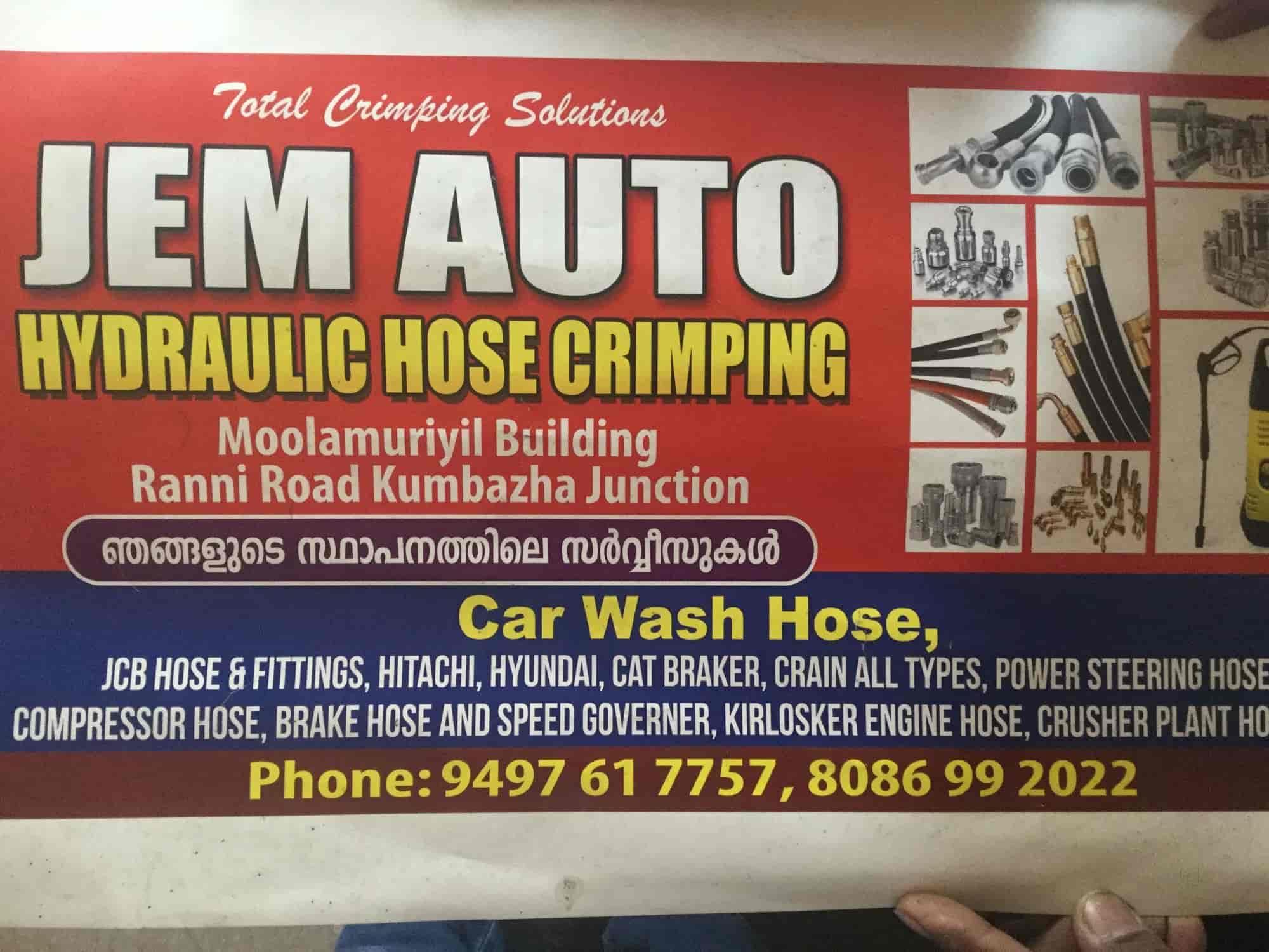 JEM AUTO Hydraulic HOSE Crimping, Pathanamthitta HO