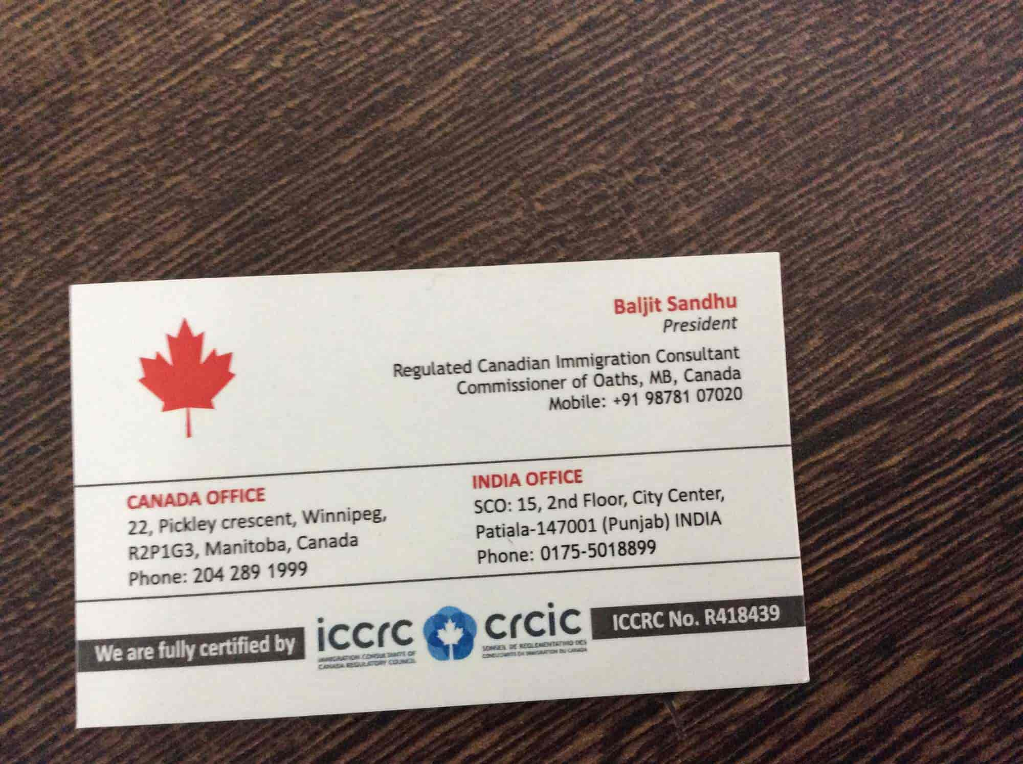 Punjabi immigration consultant in winnipeg