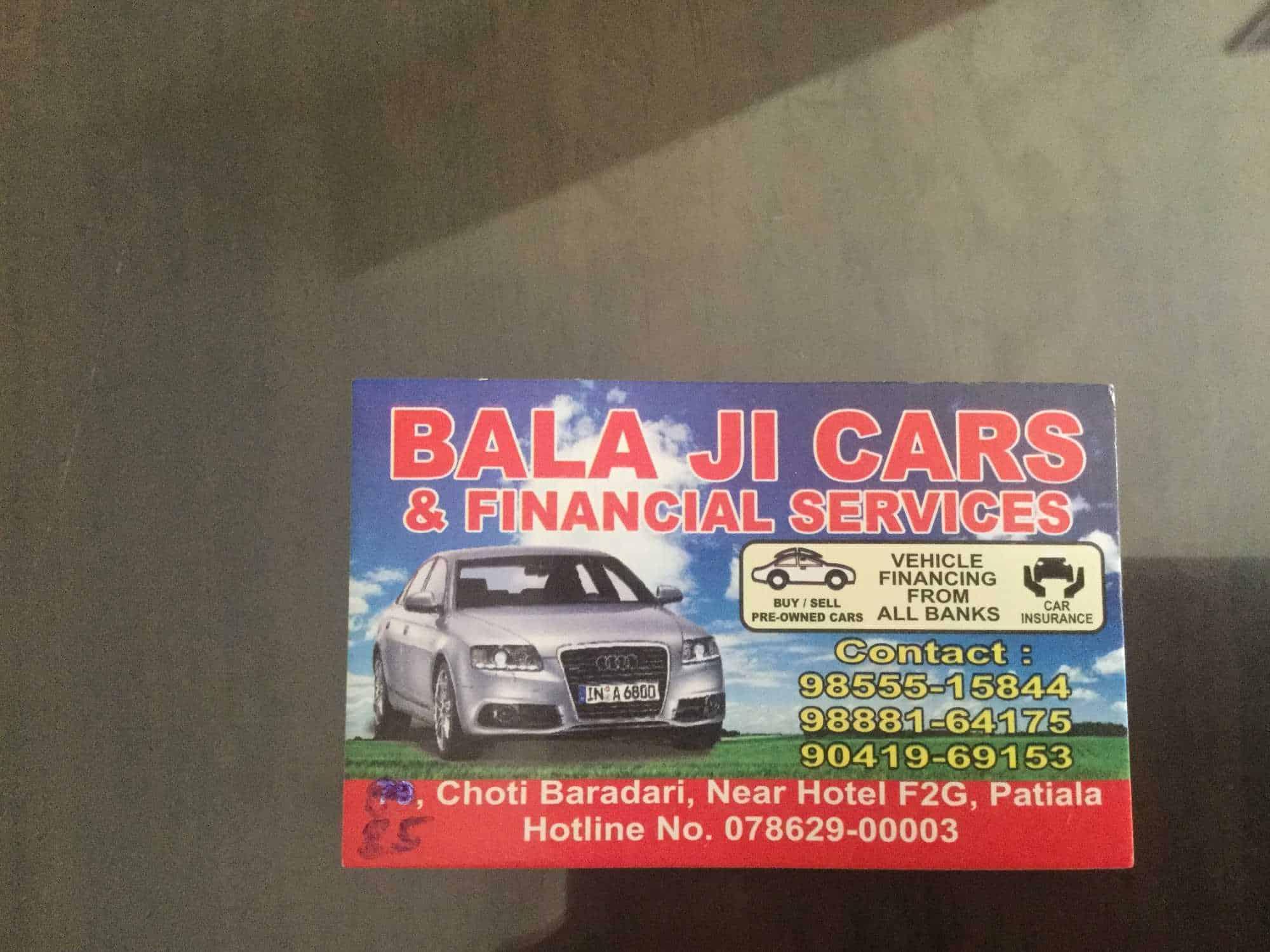 Car Financial Services >> Bala Ji Cars Financial Services Photos Choti Baradari