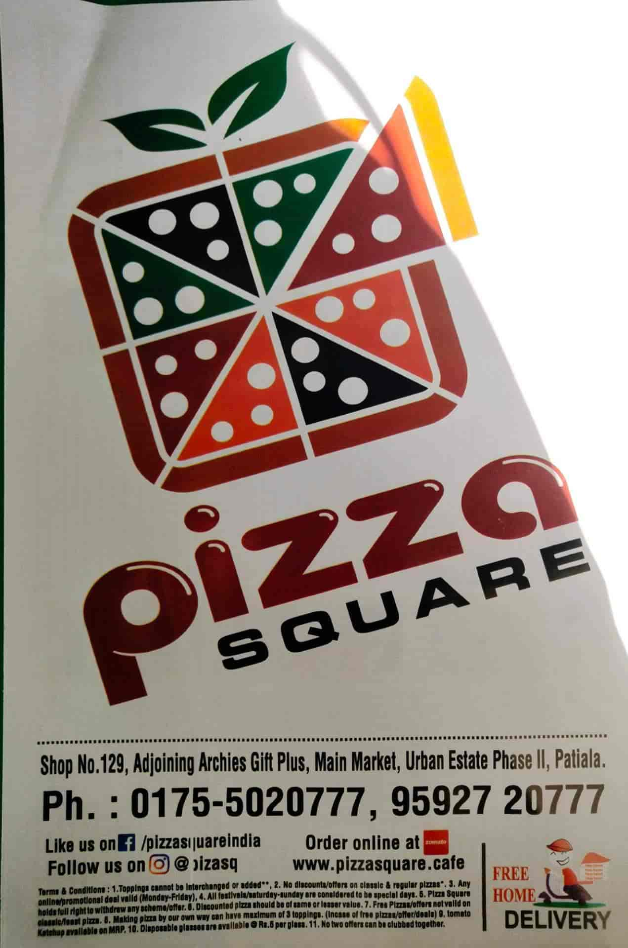 Pizza Square Photos, Urban Estate Phase 2, Patiala- Pictures