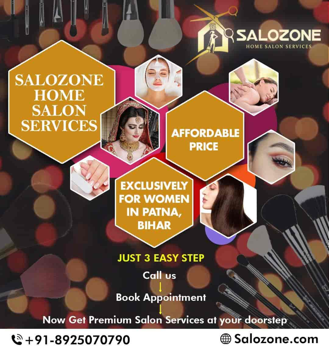 Salozone Home Salon Services, Patna Gpo - Beauty Parlours At