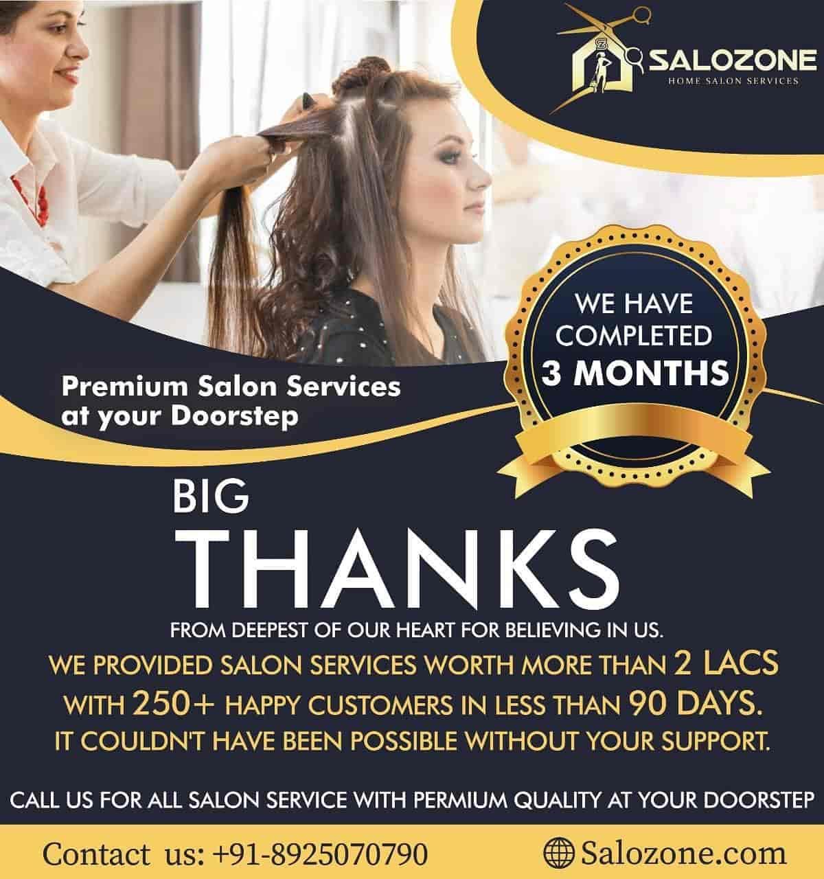 Salozone Home Salon Services, Patna Gpo - Beauty Parlours At