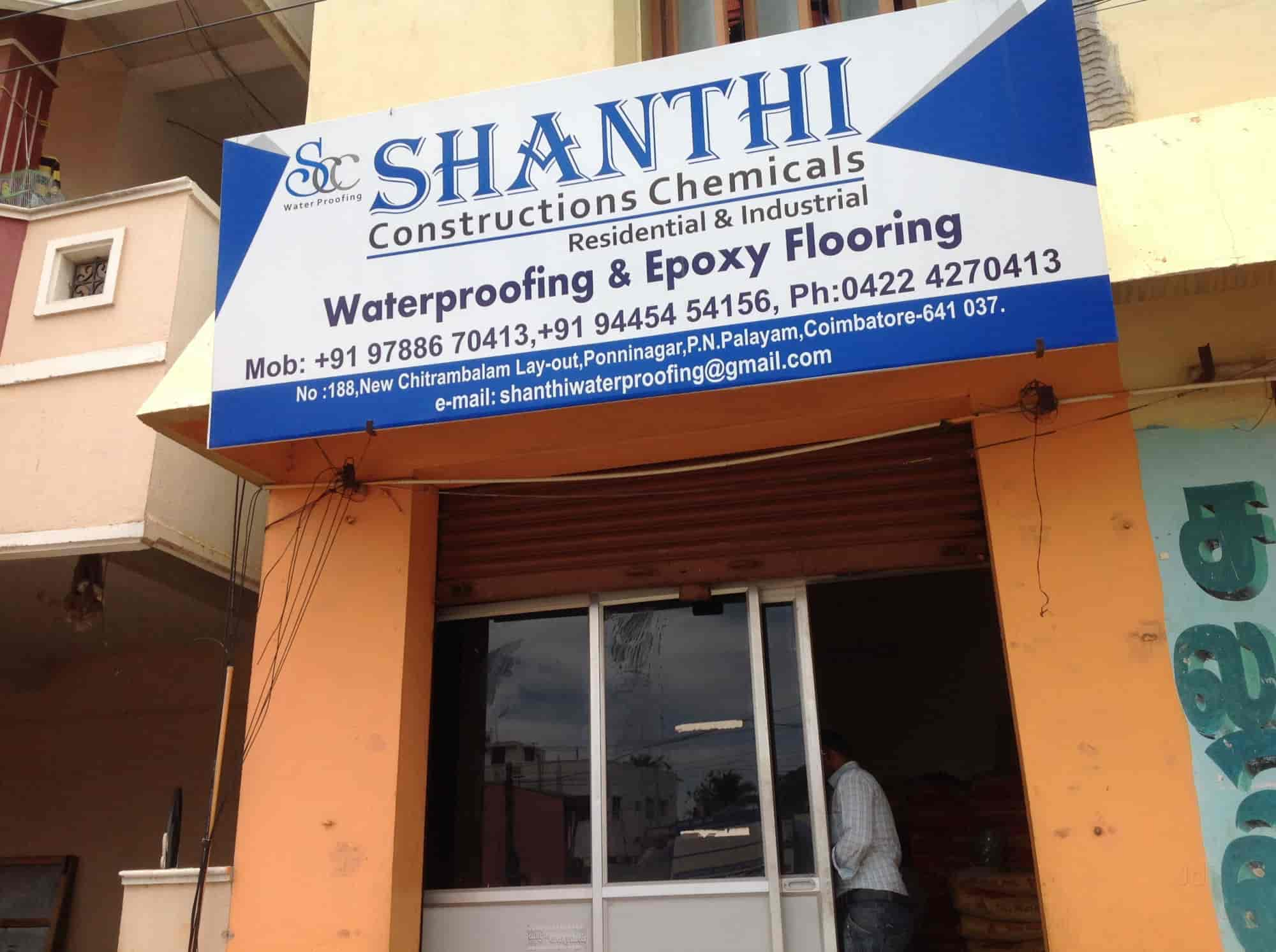 Shanthi Constructions Chemicals & Waterproofing, Near sbi Atm