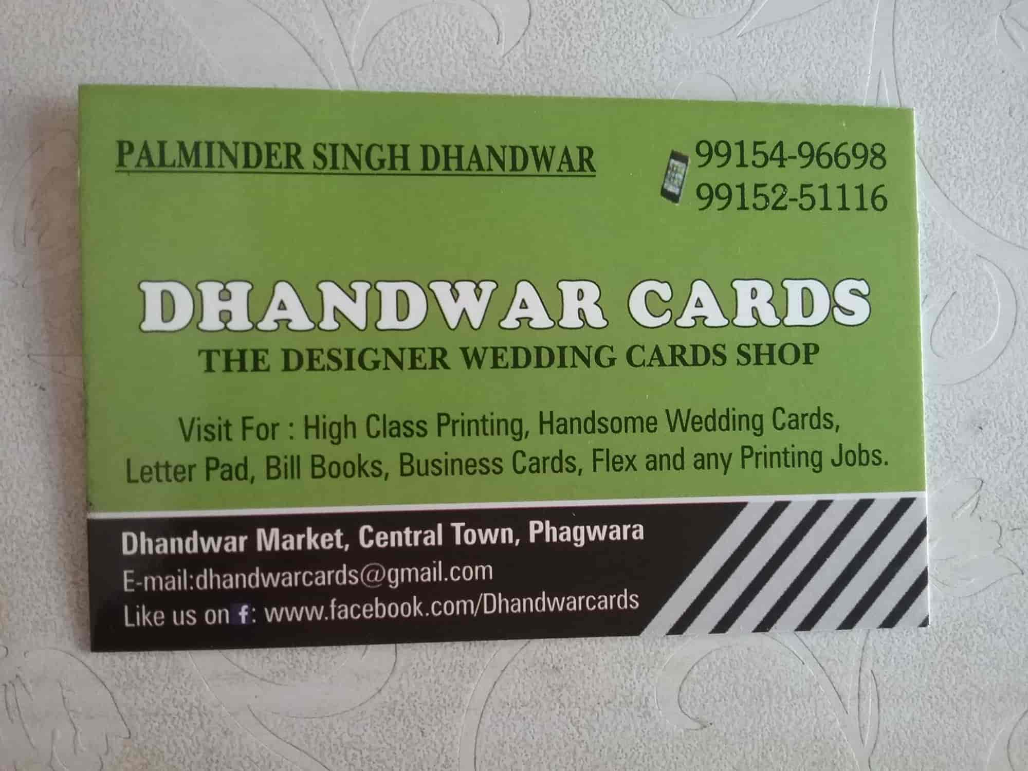 Dhandwar Cards Photos, , Phagwara- Pictures & Images Gallery - Justdial