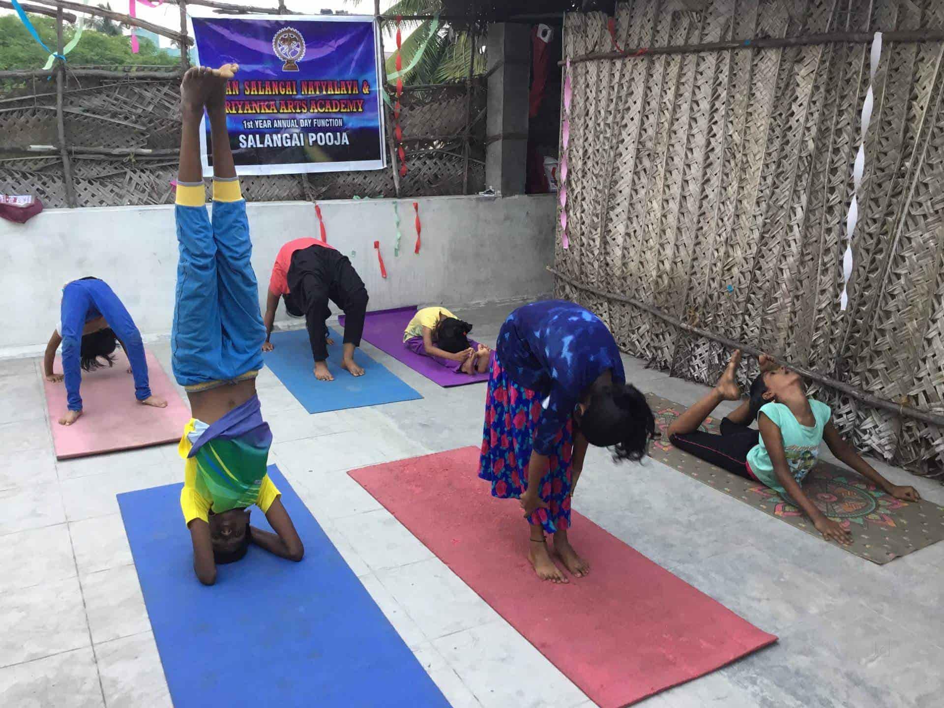 Sivan Salangai Natiyalaya, Moolakulam - Dance Classes For