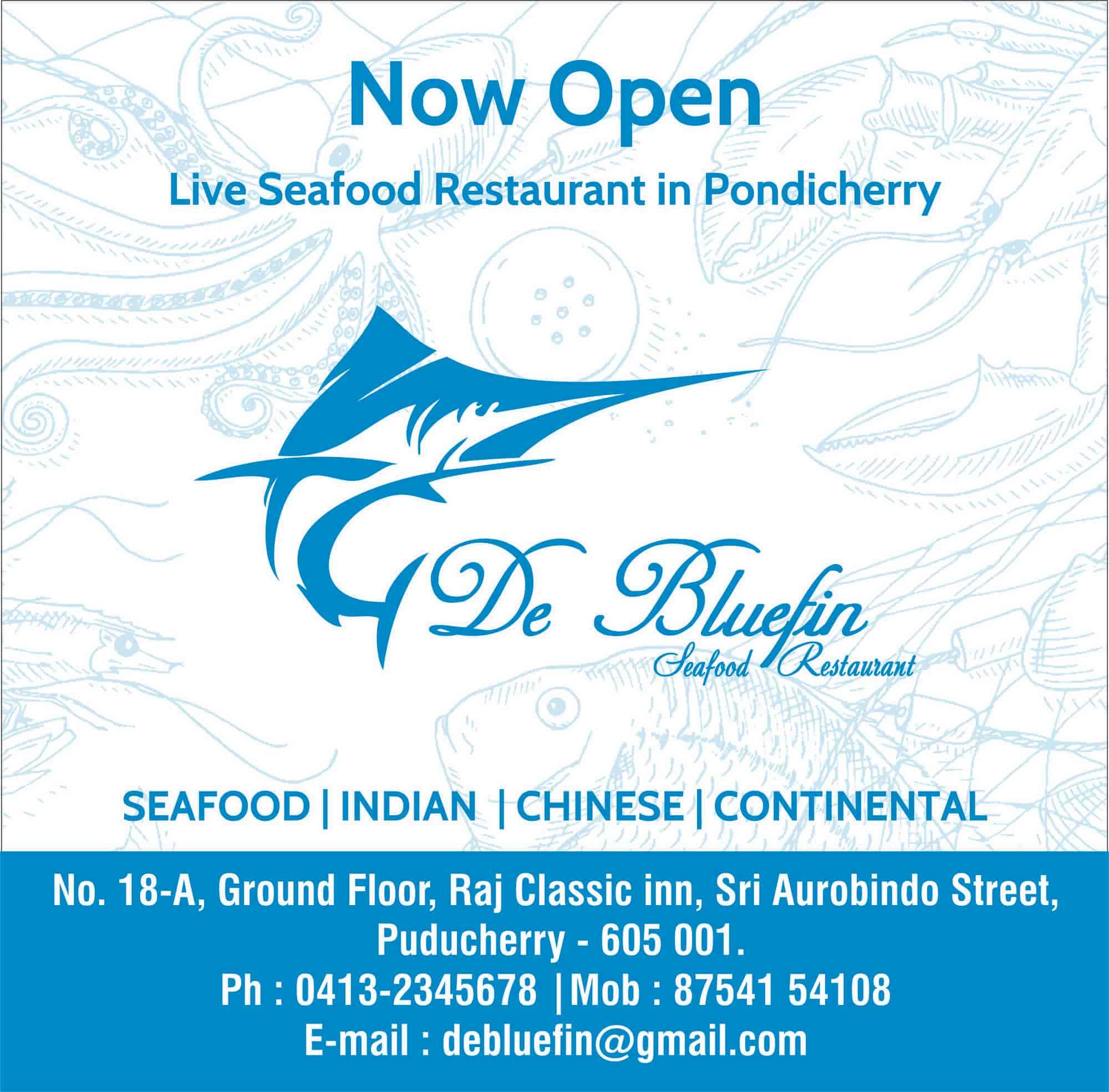 Best Seafood Restaurants In Pondicherry Seafood Restaurants in ...