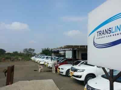 Translines Luxury Car Rentals Lohegaon Car Hire Honda City In