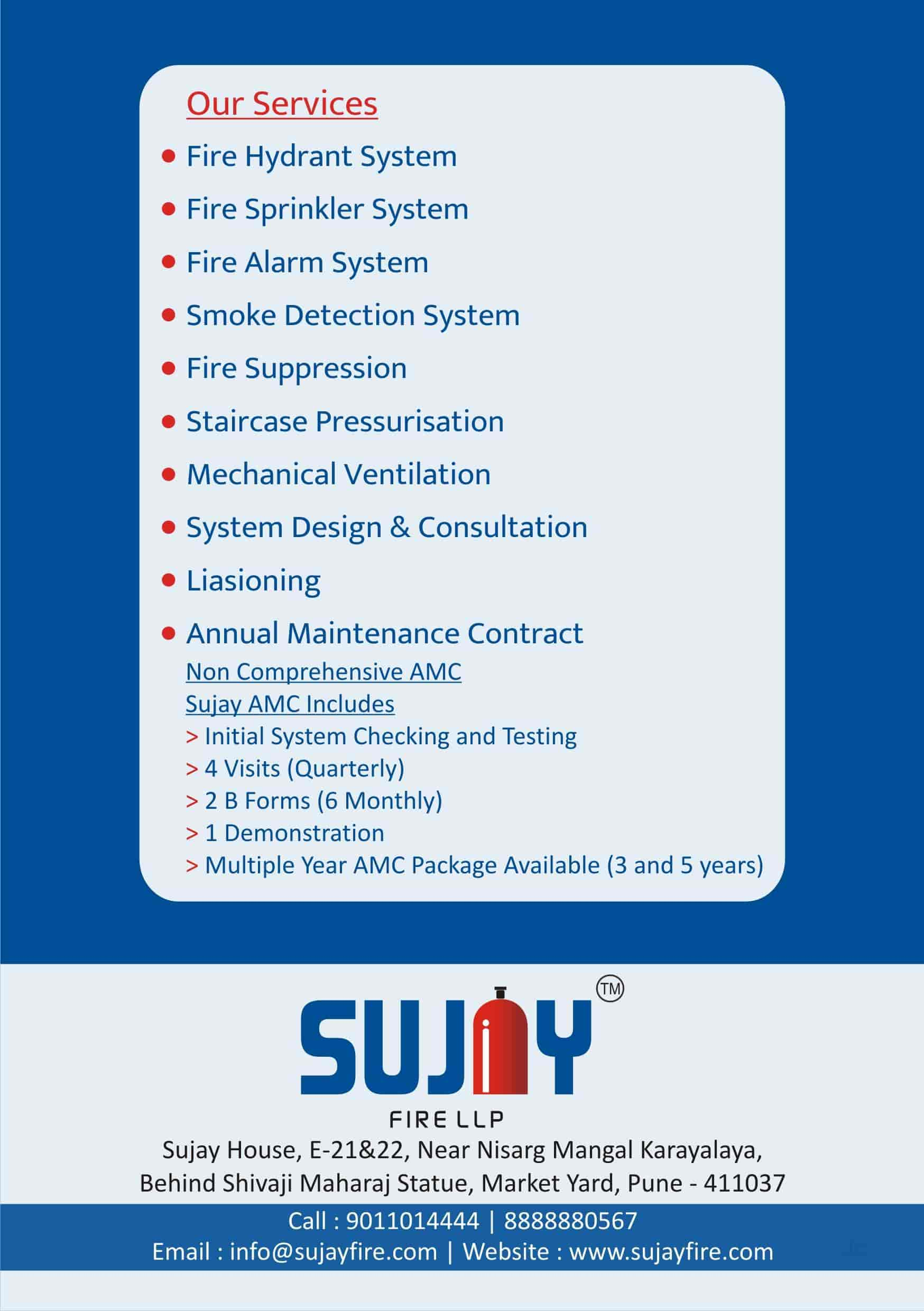 Sujay Fire LLP, Market Yard - Fire Safety Equipment Dealers in Pune
