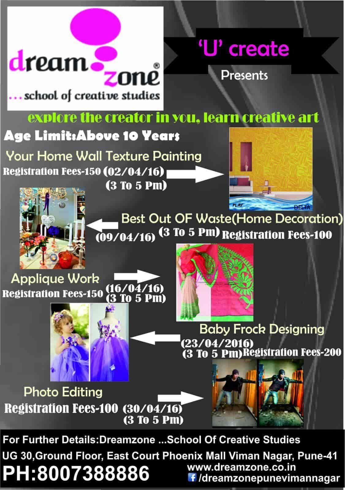 Dream Zone School Of Creative Studies Viman Nagar Computer Training Institutes In Pune Justdial