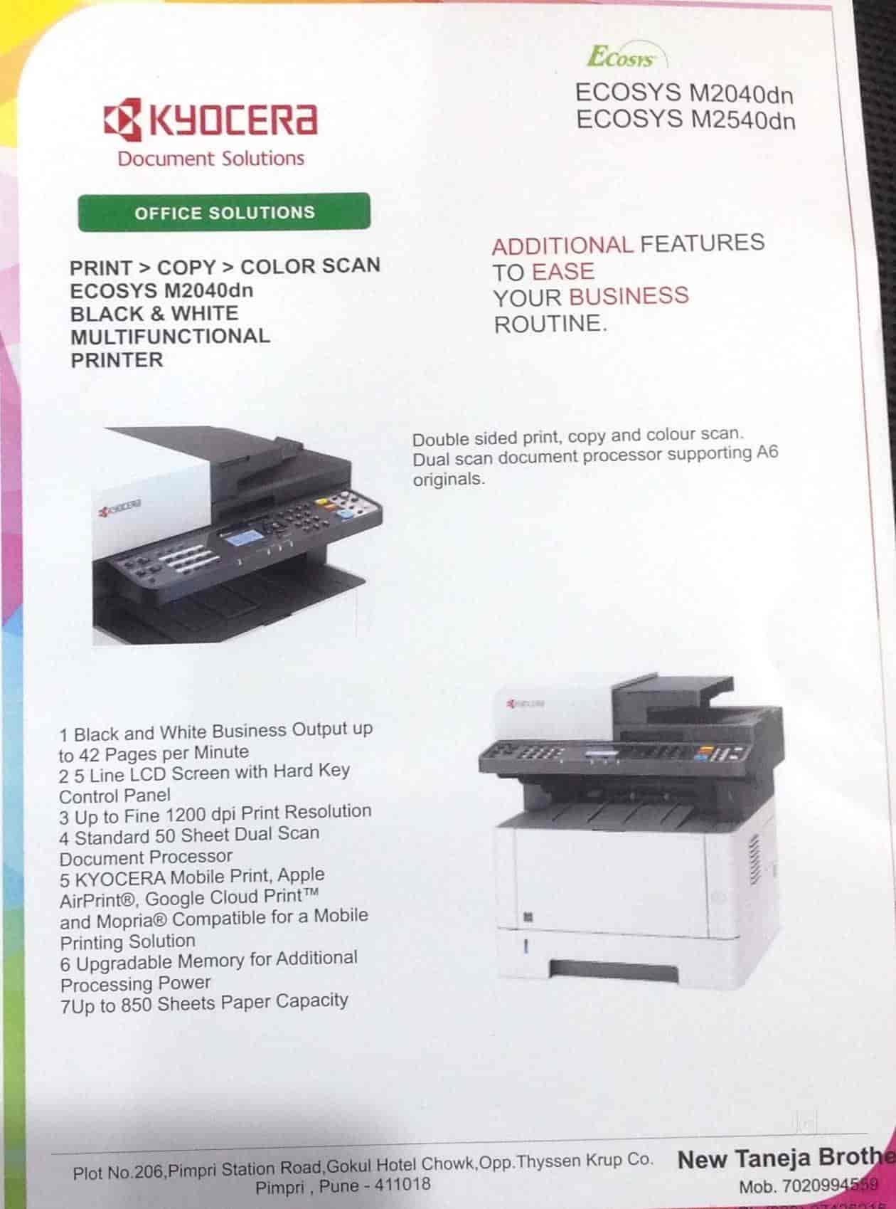 New Taneja Brothers, Pimpri - Photocopier Dealers-Xerox in