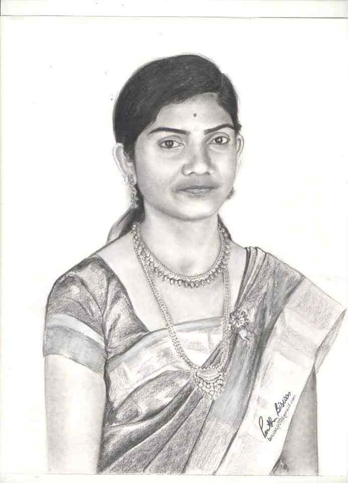Pencil sketch kalakari in photos dapodi pune sketch artists