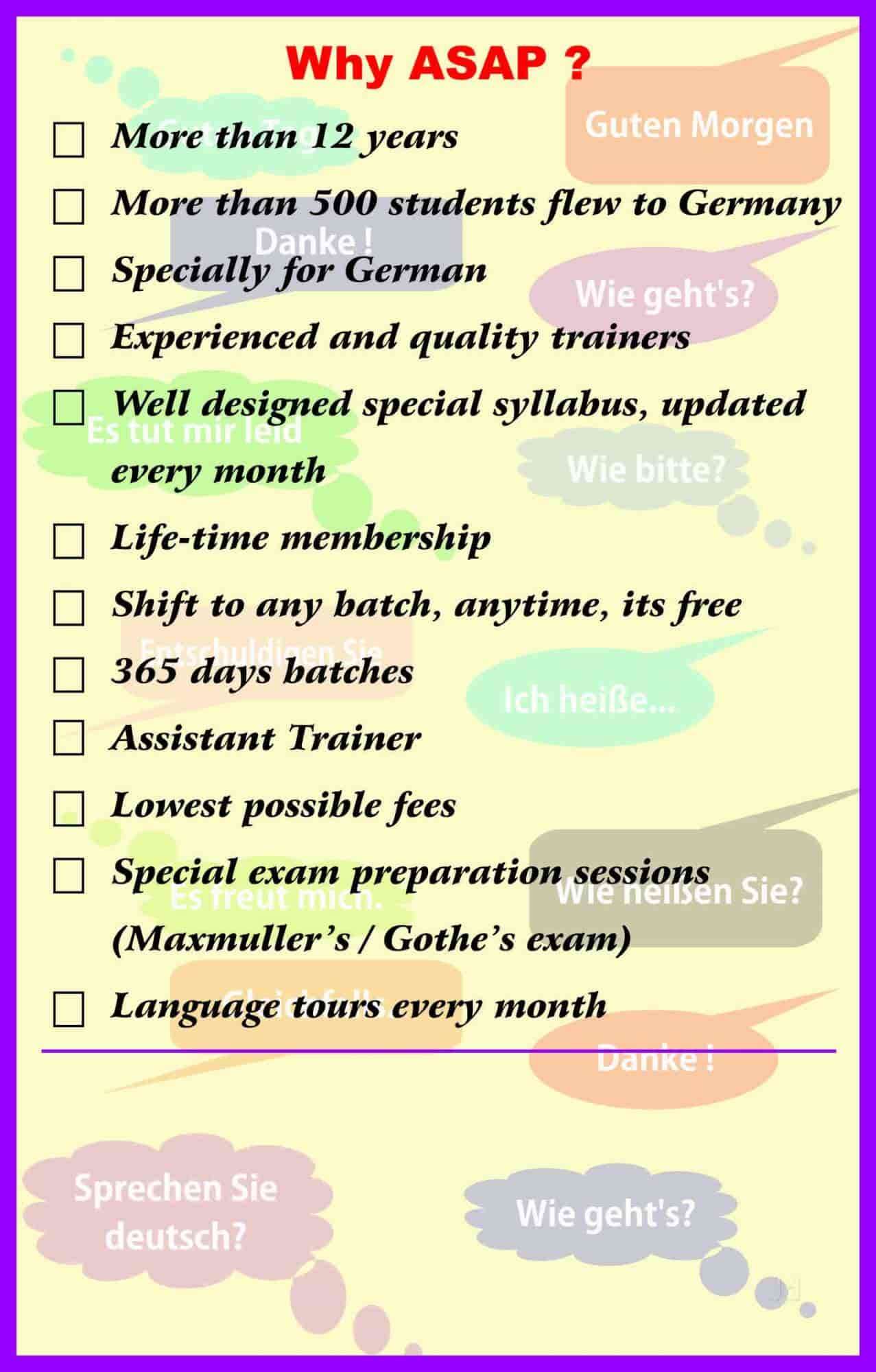 freut mich in german