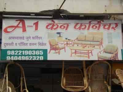 ... Front View Of Shop   A 1 Cane Furniture Photos, Vithalwadi, Pune   Cane  ...