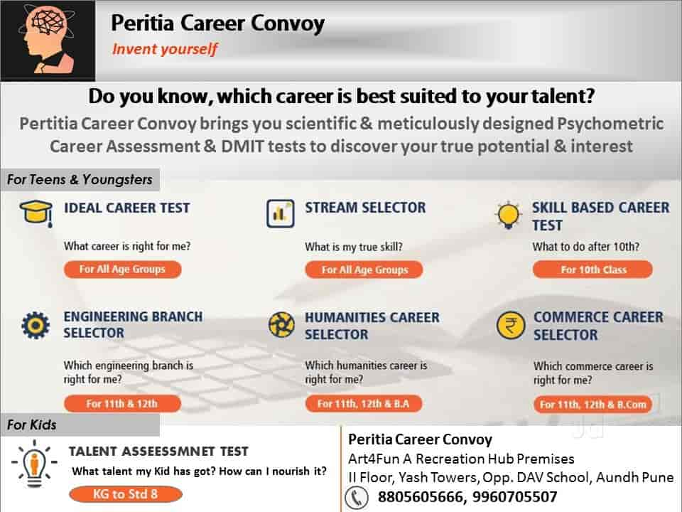 Peritia Career Convoy, Aundh - Career Counselling Centres in pune