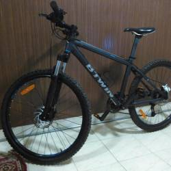 3c247d79a Decathlon Sports India Pvt Ltd Wagholi Goods Dealers In. Btwin By Decathlon  Rockrider 520 S 27 5 Mountain Bike Grey T Hardtail Cycle 24 Gear