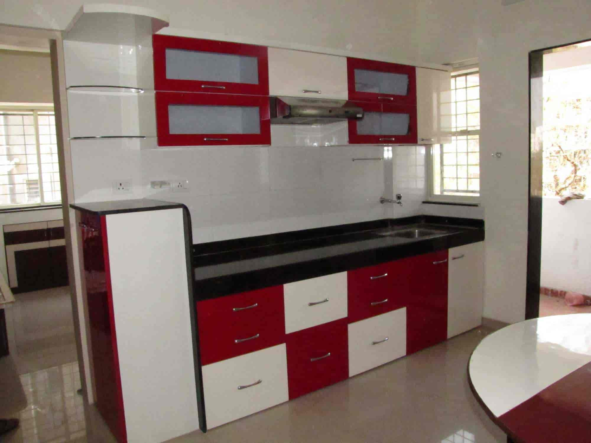 ... Modular Kitchen View   Mona Furniture And Kitchen Trolley Photos,  Warje, Pune   Furniture ...