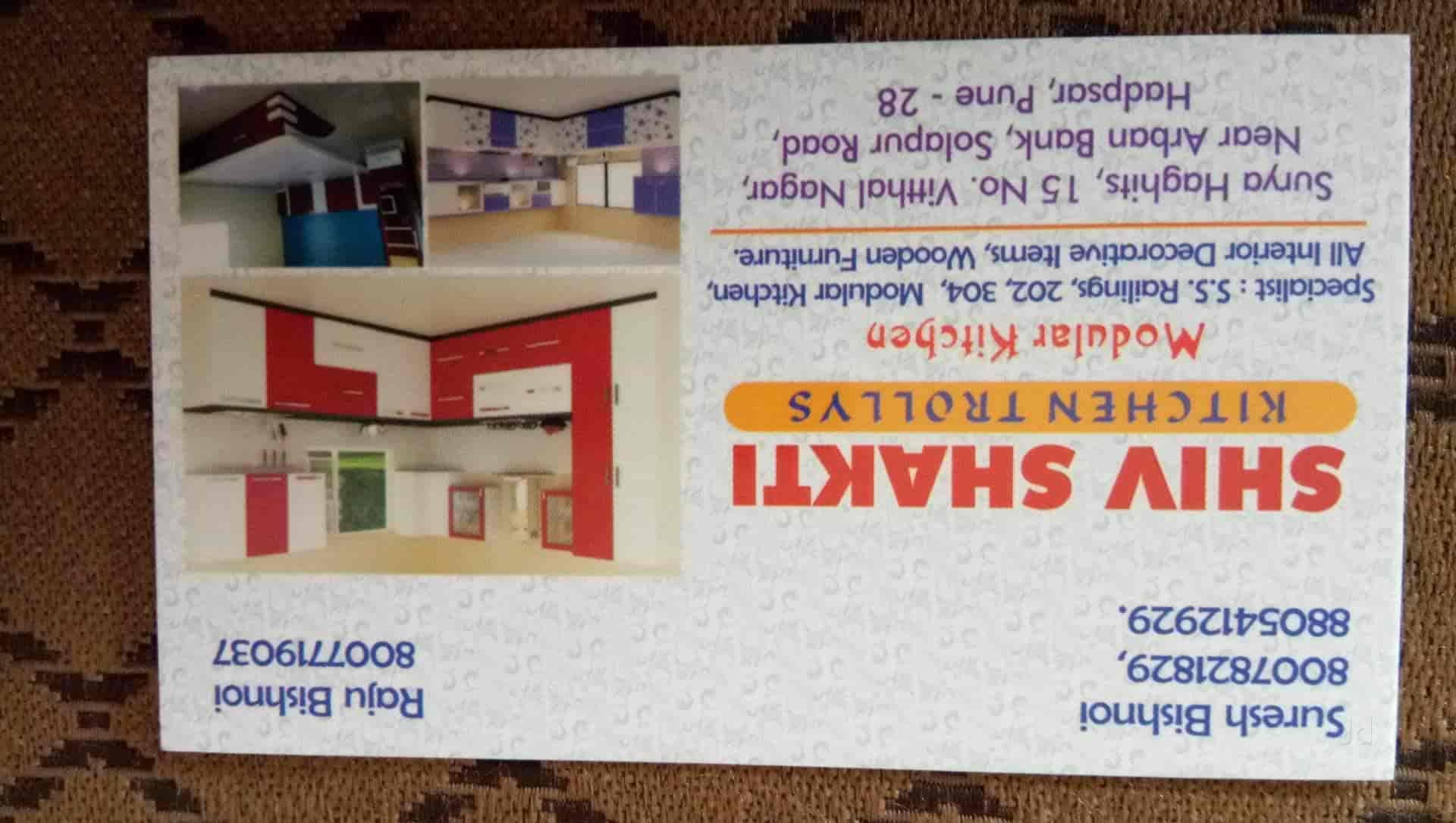 Shiv Shakti Kitchen Trolley, Hadapsar - Modular Furniture Dealers in