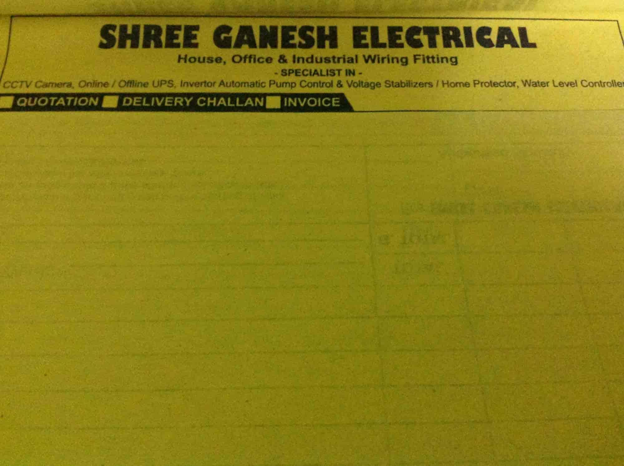 Shree Ganesh Electricals Nigdi Pradhikaran Akurdi Pimpri Chinchwad Electrical House Wiring Quotation Services In Pune Justdial
