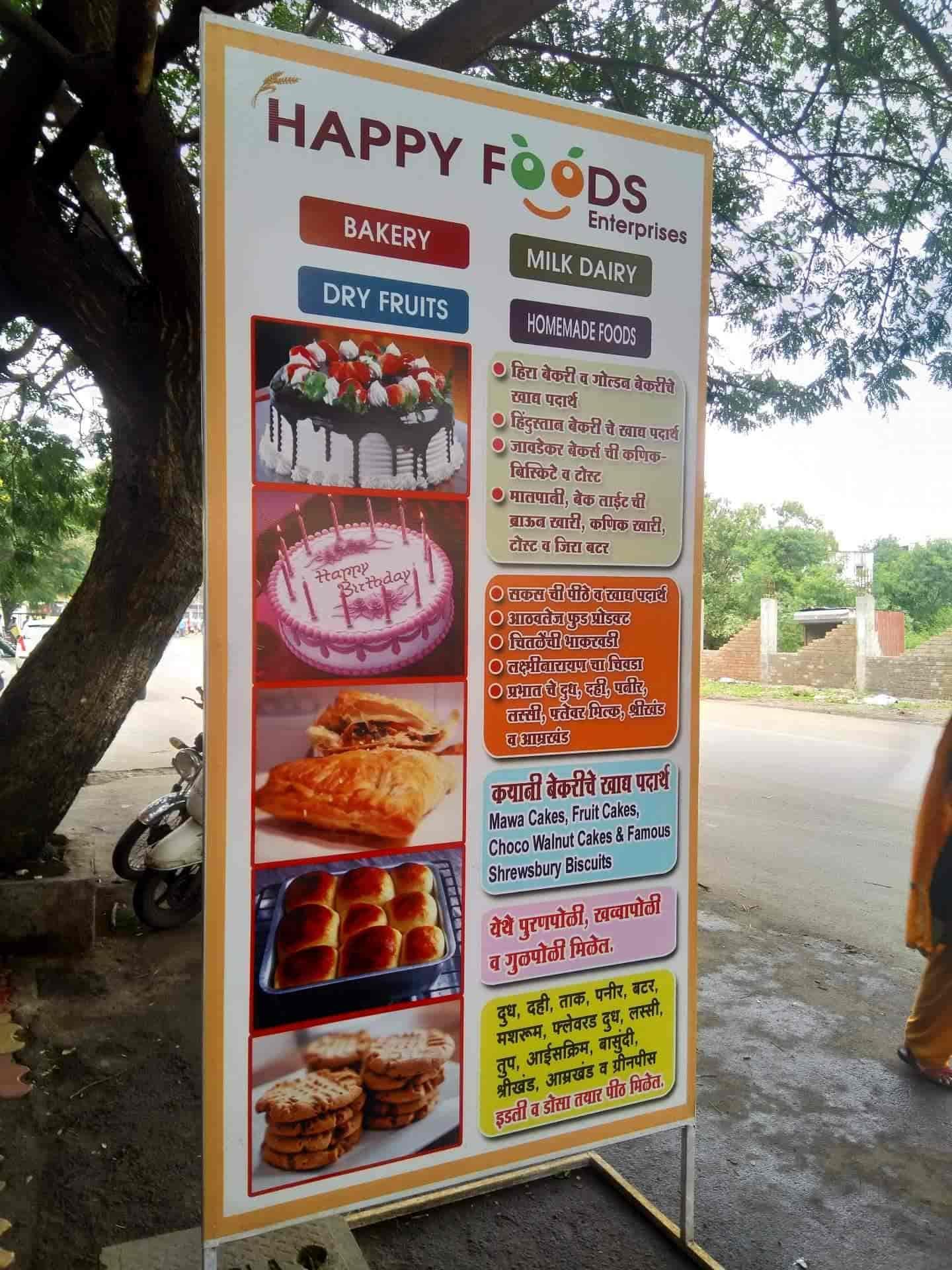 Happy Foods Enterprise, Shahu Nagar-Chinchwad - Bakeries in