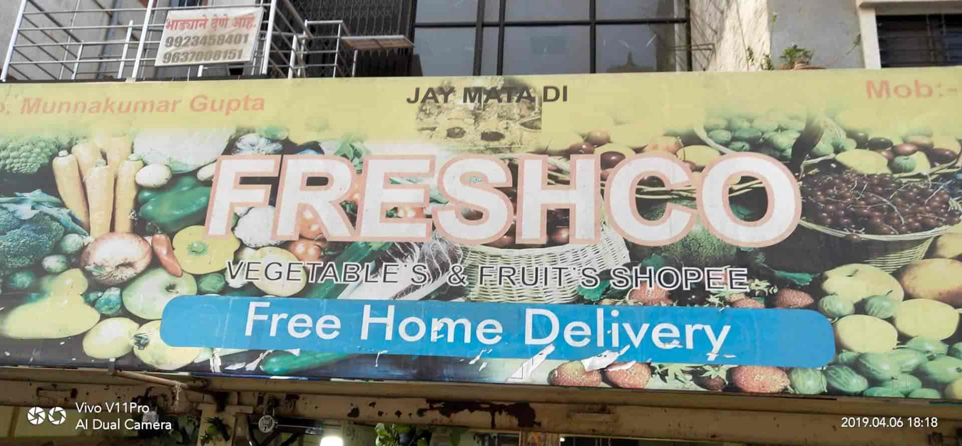 Freshco Vegetables And Fruits, Rahatani - Vegetable Home Delivery