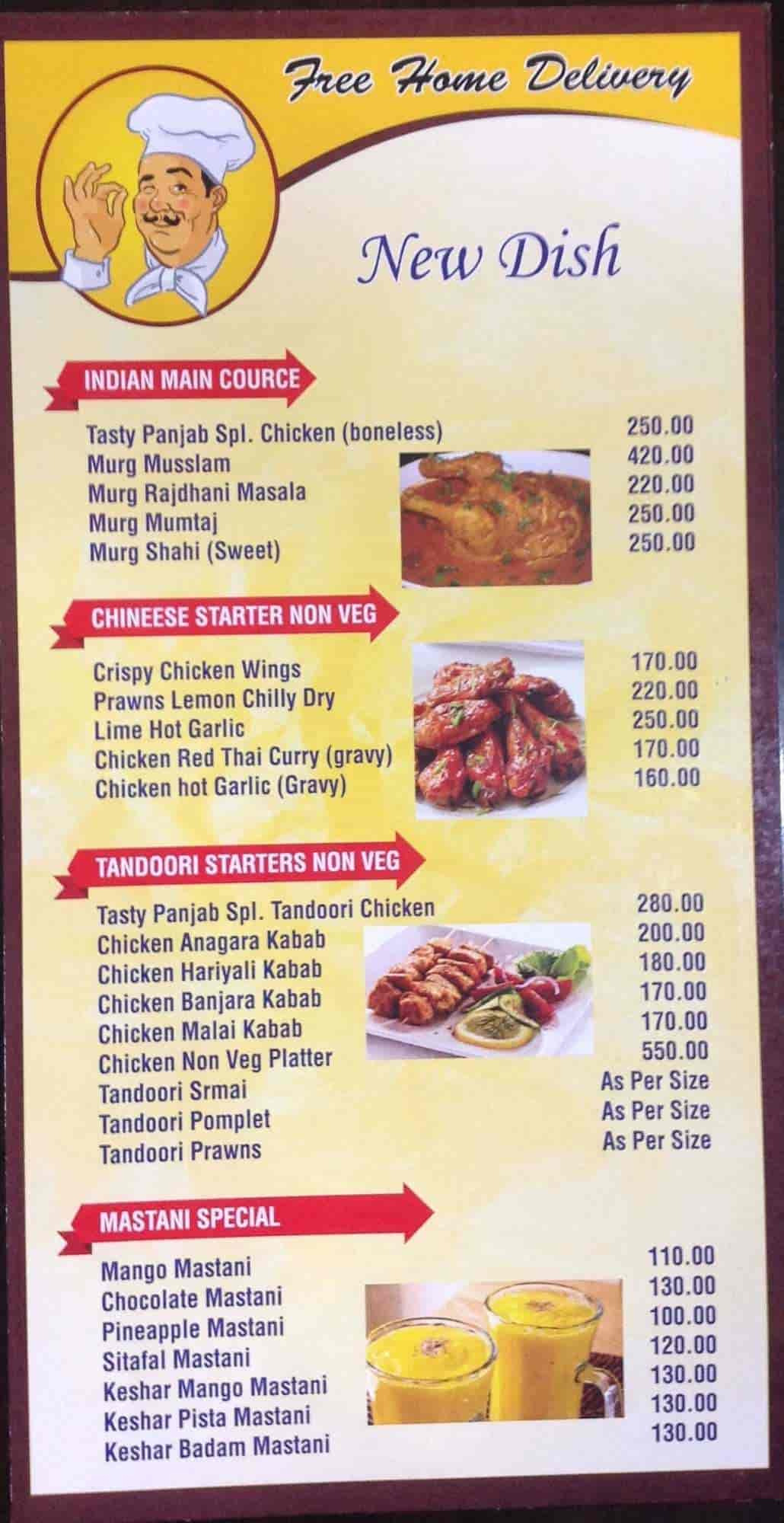 Tasty Punjab, Hadapsar, Pune - Punjabi, Chinese, North