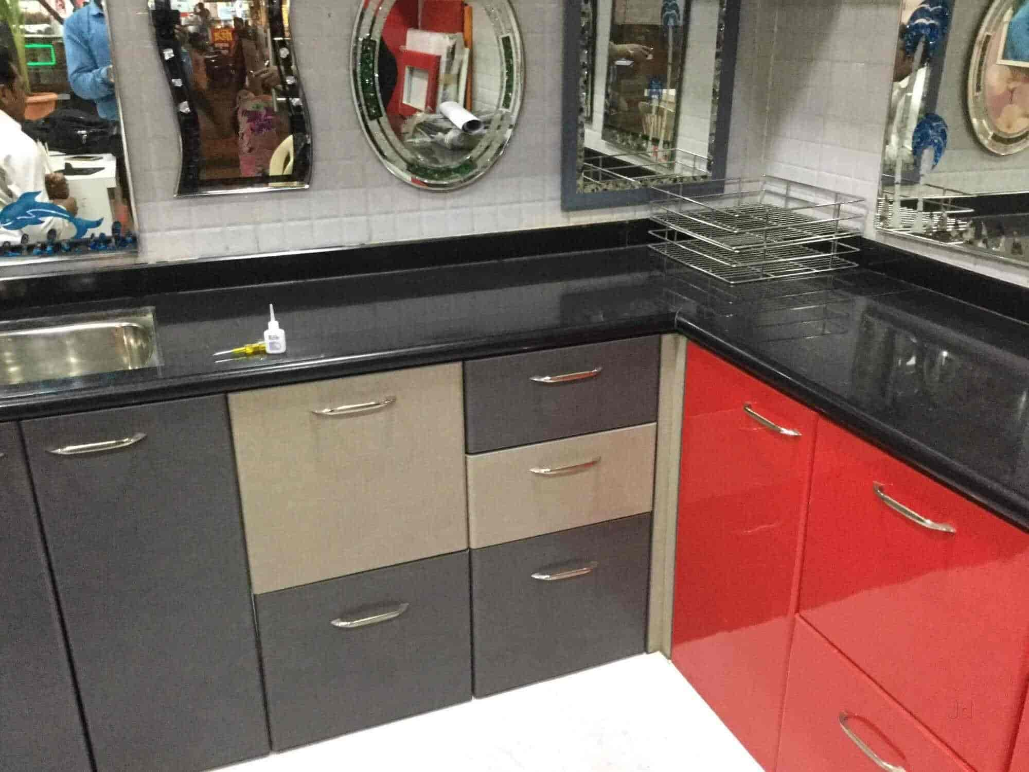 Charmant Kaveri Modular Kitchen Trolley And All Furniture, Chikhali   Kaaweri  Modular Kitchen Trolley And All Furniture   Interior Designers In Pune    Justdial