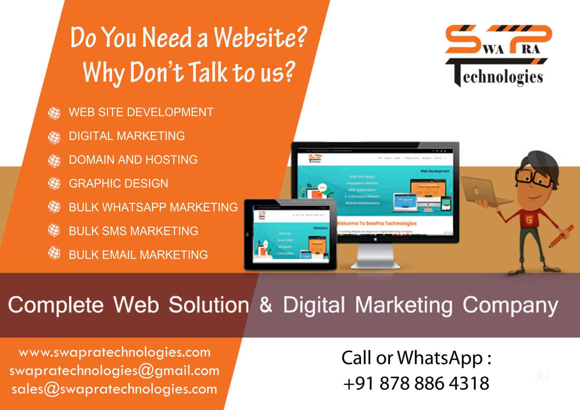 SwaPra Technologies - Swapra Technologies Images, Koregaon Park, Pune - Internet Website Designers