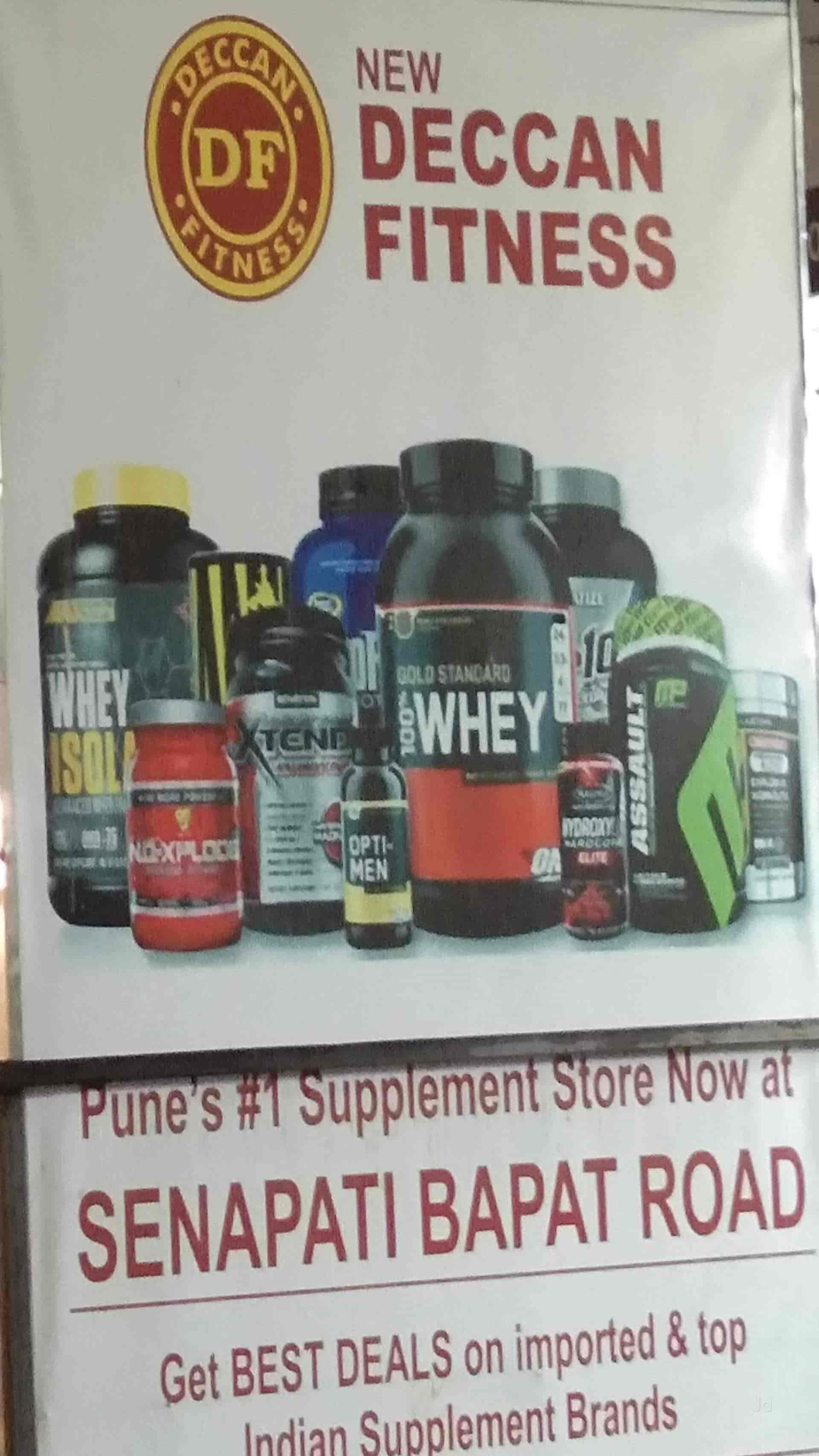 New Deccan Fitness, Gokhale Nagar - Protein Supplement