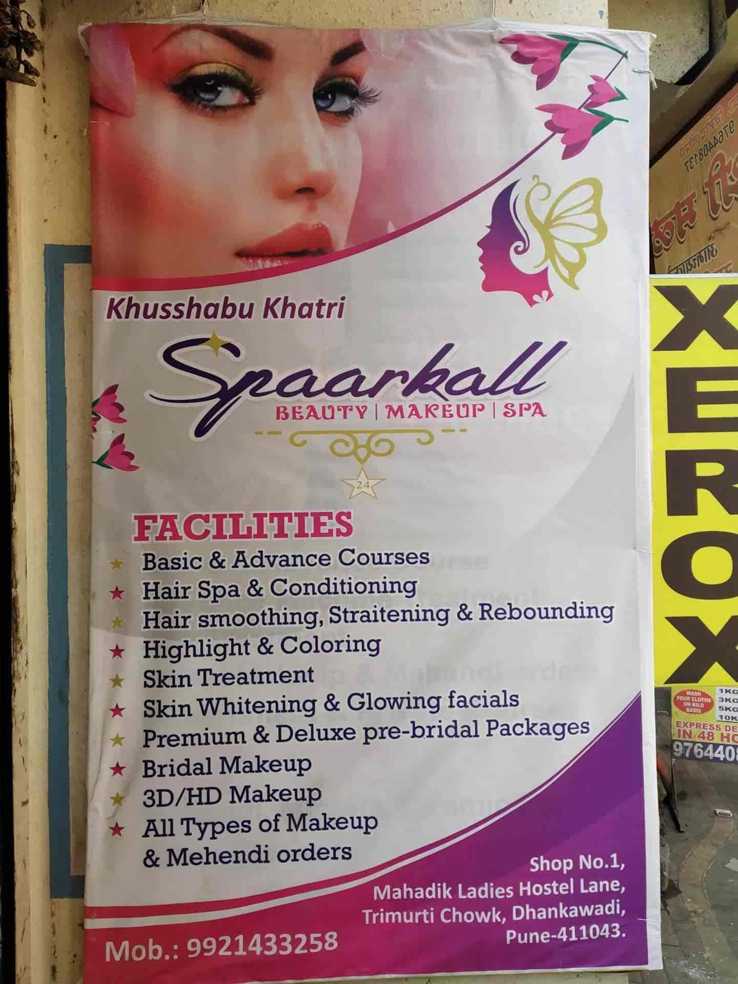 Spaarkall Ladies Beauty Parlour Dhankawadi Beauty Spas In Pune Justdial
