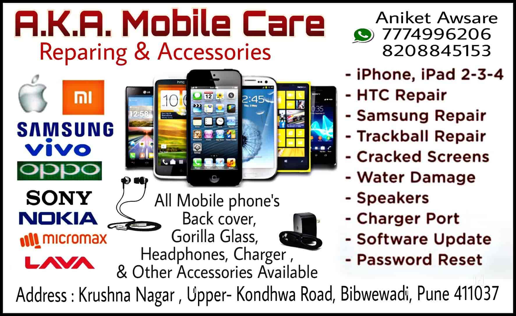 best service 2162d d3006 A.K.A Mobile Care, Bibvewadi - Mobile Phone Dealers in Pune - Justdial