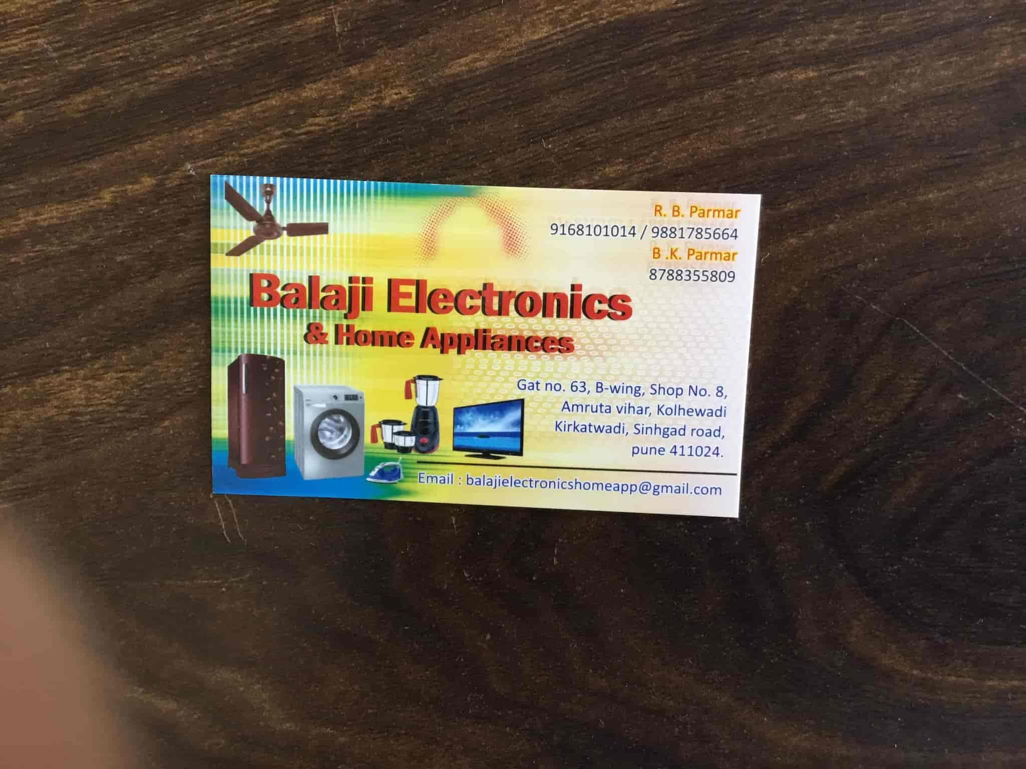 Balaji Electronic And Home Appliance Kirkatwadi Ac