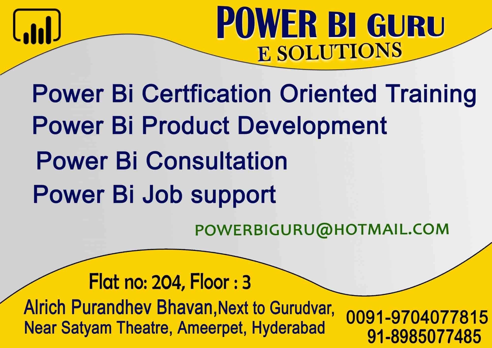 Power Bi Guru E Solutions Photos, Hinjawadi, Pune- Pictures