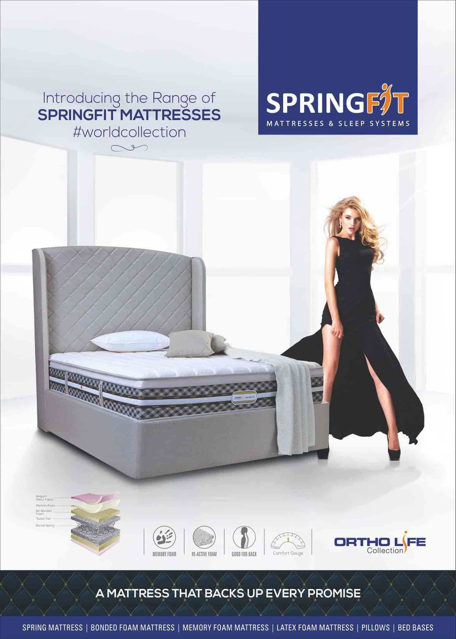 springfit mattresses and sleep system photos undri pune pictures
