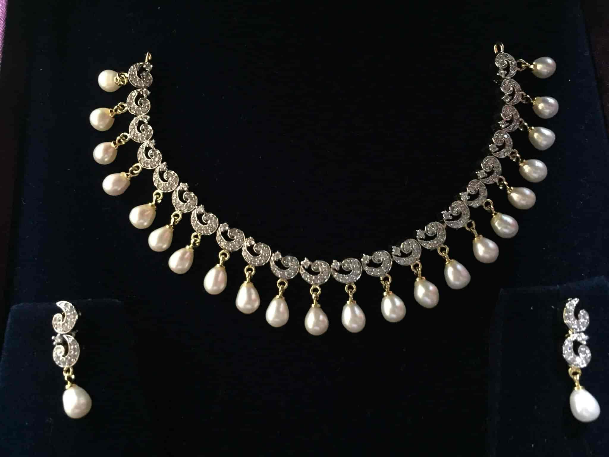 7d795d157 Hyderabad Pearls, Telibandha - Pearl Jewellery Showrooms in  Raipur-Chhattisgarh - Justdial