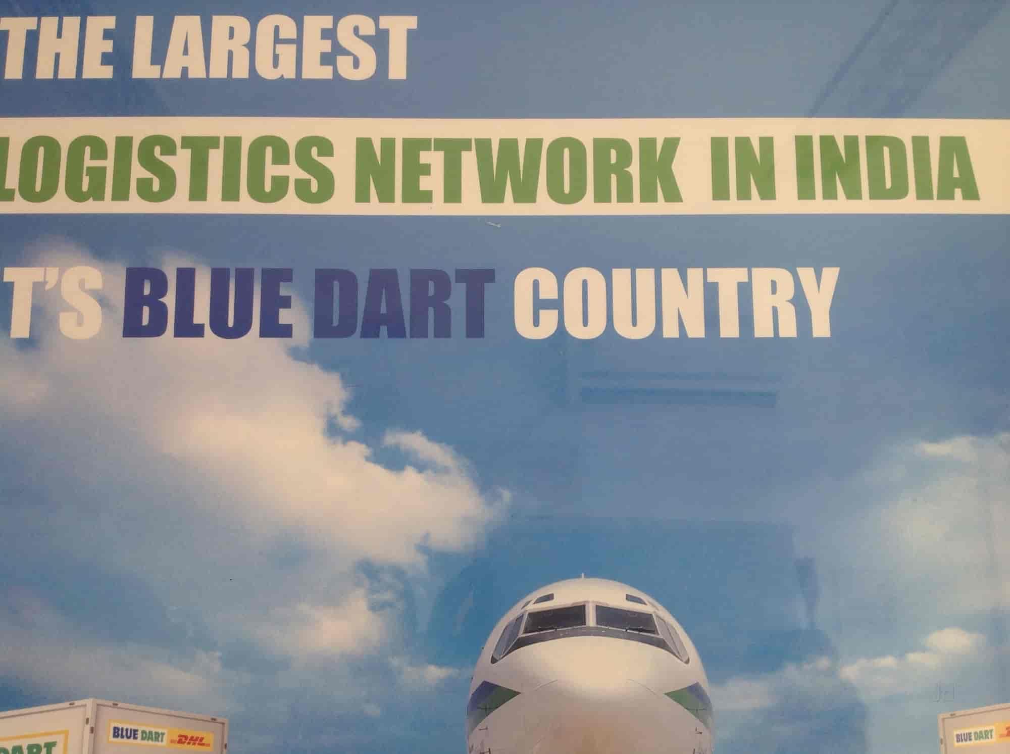 Blue Dart Courier, Lodhipara Chowk, Raipur-Chhattisgarh - Domestic