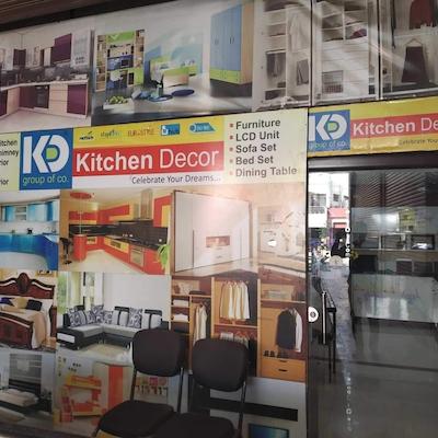 kitchen decor, avanti vihar - wall paper dealers in raipur