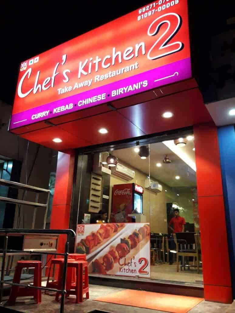 front view of restaurant chefs kitchen 2 photos telibandha raipur chhattisgarh - Chefs Kitchen 2