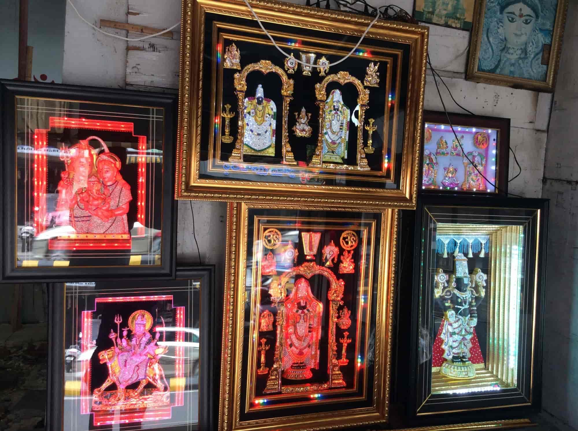 Sri Lakshmi Ganapathi Photo Frame Works Photos, Goka Varam Busstand ...
