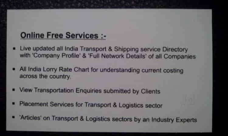 The Transporter, Tagore Road - Transport Publications in