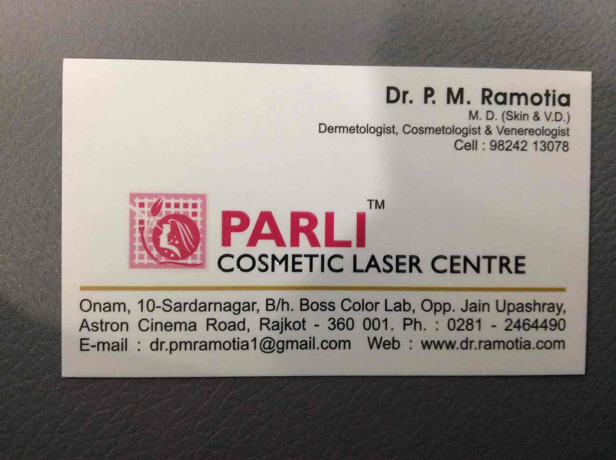 Dr  Ramotiyas Parli Cosmetic Laser Centre - Dermatologists - Book