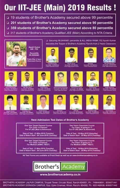 Brothers Academy, Circular Road - Tutorials in Ranchi - Justdial